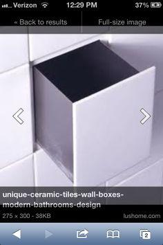 Hidden tile drawers