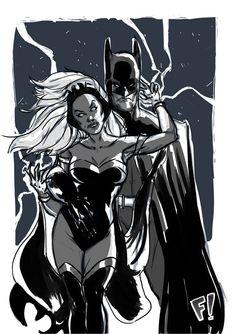Storm & Batman