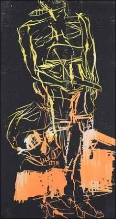 Baselitz, Lockenkopf mit Beil, 1967