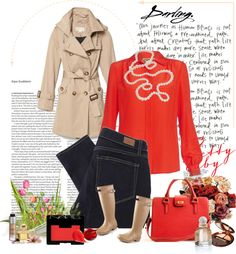 Classy Rainy Day, created by jmcgee330 on Polyvore
