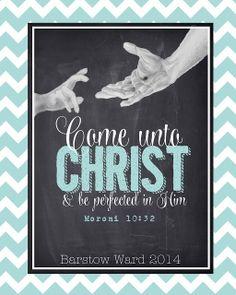 …Come unto Christ!