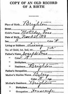 Tips for Finding Historical Birth Information