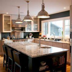 window, remodel kitchen, old houses, kitchen big, sink