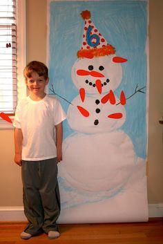Snow Day Birthday Party Activity Idea