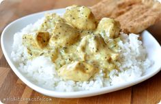 Basil Chicken in Coconut Curry Sauce- from Mel's Kitchen Cafe