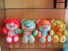 "Nosy Bears! I remember having the ""Popcorn"" and ""Balloon"" Nosy Bear as a kiddo. Thank you, Momma! :)"