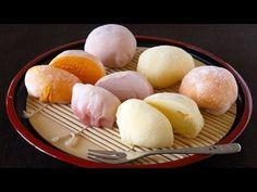How to Make Mochi Ice Cream (Yukimi Daifuku Recipe) 雪見だいふくを作ってみた♪ (餅アイス レシピ)