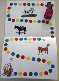 gingerbread board game and lots more ideas for Gingerbread theme
