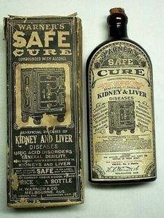 "This must have been the replacement for the ""unsafe"" cure....lol"