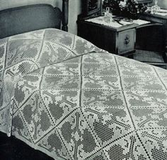 Quick Work Bedspread | Crochet Patterns