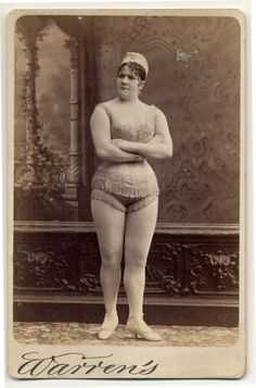 Exotic Dancers in 1890 and the Plump Body Ideal (click thru for analysis)