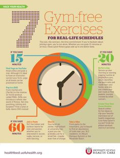 Gym-free Exercises #fitness