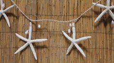 6' Large White Starfish Garland (http://www.caseashells.com/6-large-white-starfish-garland/)