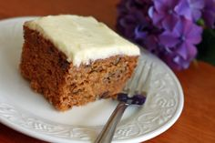Old-fashioned Carrot Cake.  daringgourmet.com