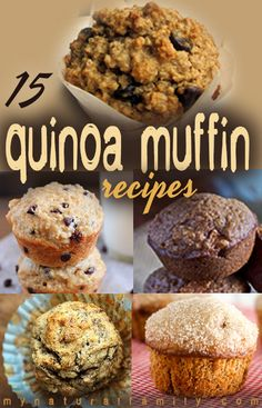 15 of the Best Quinoa Muffin Recipes
