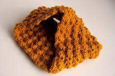 Aesthetic Nest: Crochet: Sedge Stitch Cowl (Tutorial for Waverly)