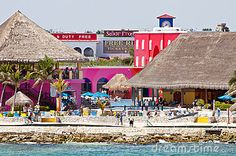 Costa Maya, Mexico.... @Maggie Nawa Look senor frogs!!