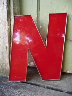 """N"" for the alphabet wall"