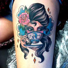 Tattoo done by Vicky Morgan. @vickymorgantattoo