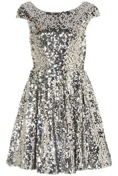 #dress #dresses #fashion #style #silver #sparkle #sequin