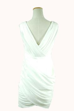 Eleanor - Deep V back. Polyester chiffon. - Pasteldressparty.com - comes in blush! $130