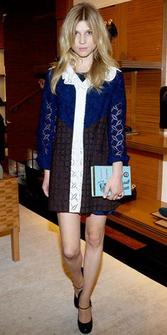 Clemence Poesy in Louis Vuitton at Louis Vuitton Store Opening in Shanghai