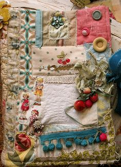 fabric journal front