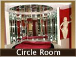 "This is a special ""Themed Suites Hotel"" in South Amboy, New Jersey: This is their Circle Room Suite"