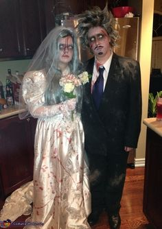 Dead Bride and Groom - 2012 Halloween Costume Contest