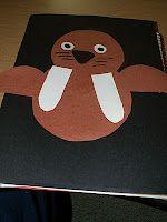 Fun Walrus craft