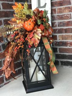 Fall entry way inspiration ~