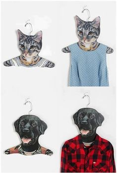 Clothes hangers that every pet lover should have!