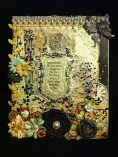 Printery Altered Canvas by evilscrapper on Etsy, $20.00