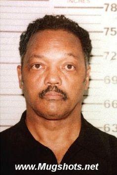 Jesse Jackson arrest mug shot
