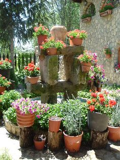 Peque os jardines para disfrutar - Jardines interiores pequenos ...