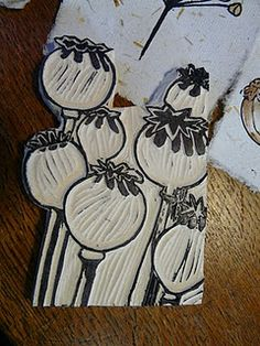 love hand carved stamps