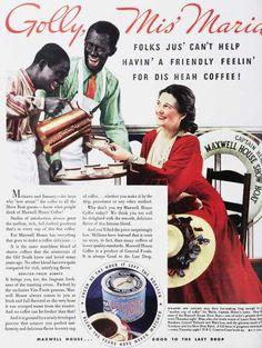 1930 Maxwell House coffee ad