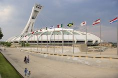Stadium built for the World Expo of 1967 in Montreal, Canada