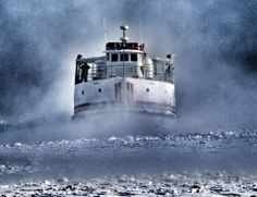 Arnold Mackinac Island Ferry Like This Page · Wednesday, December 18 at 10:12am  Old Man Winter had his grip on the Straits on Monday. Thank you, S.J. Baker for sharing! — at Arnold Mackinac Island Ferry.