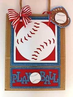Play Ball Gift Bag using Cricut Sports Mania by jami