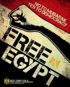 Free Egypt Poster by People's Open Graphics