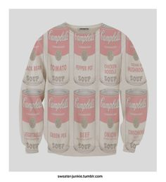 Campbell's Soup Can Sweatshirt