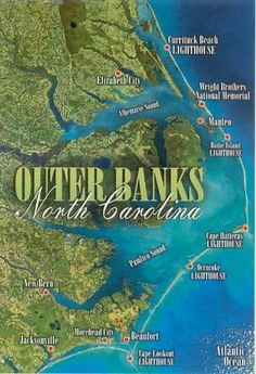 the beaches of Outer Banks, NC