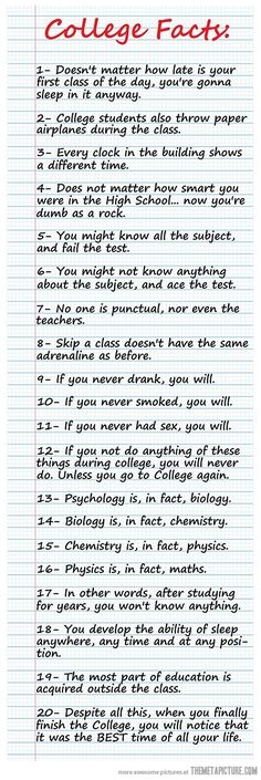 College Life Truths