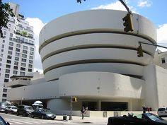 The Guggenheim Museum, New York City, New York (have yet to go here)