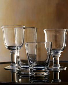 """Savannah"" Glassware at Horchow."