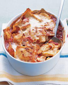 i want this ! Baked Ravioli..