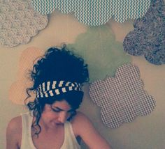 Knit Fabric Head Wrap | Doodle Parade