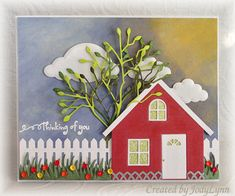 MIX55 F4A208 WT466 Little Red House