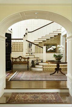 beautiful foyer.